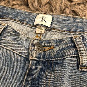 CK Calvin Klein jeans denim vintage relaunch jeans